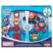 Hasbro Hsbb6454 Mr. Potato Head Marvel Mashups Dual Gender; Pack Of 4