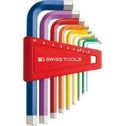 PB Swiss Tools Rainbow - Inbus 210H-10RB