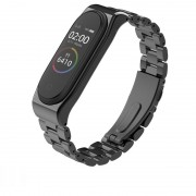 Curea otel inoxidabil Tech-Protect Stainless Xiaomi Mi Band 3/4 Black
