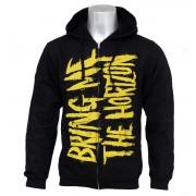 sweat-shirt avec capuche pour hommes Bring Me The Horizon - BMTH Logo - BRAVADO - 31921009