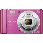 Sony Cyber-Shot DSC-W810P Digitale camera 20.1 Mpix Zoom optisch: 6 x Roze