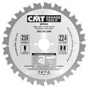 CMT 290.200.24M HW Schulpzaagblad - 200 x 30 x 24T - Hout