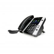 Video Telefono Polycom VVX 500 -Negro