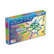 Set de constructie magnetic Geomag Color 91 piese