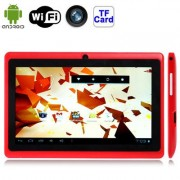 7.0 inch Android 4.2.2 Tablet PC - Red