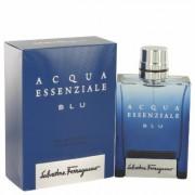 Acqua Essenziale Blu For Men By Salvatore Ferragamo Eau De Toilette Spray 3.4 Oz