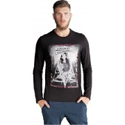Edward Jeans Tricou cu mâneci lungi pentru bărbați Grand T-Shirt 16.1.1.01.056 M