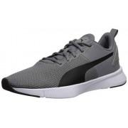PUMA Flyer Runner Tenis para Correr, Unisex Adulto, Charcoal Gray/Black, 28
