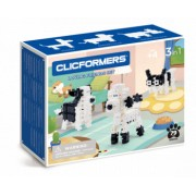 Set de construit Clicformers-Animale prietenoase 79 piese