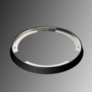 Distance ring for ARF 68 recessed light, black