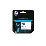 HP Pack de Ahorro de 3 Cartuchos de Tinta Original HP 711 de 29 ML CZ134A Cián para DesignJet T120 ePrinter, T520 ePrinter