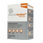 Tónico cerebral adultos 30cp+30cap - Mental Action