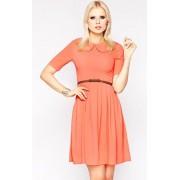Sukienka M002 (pomarańczowy)
