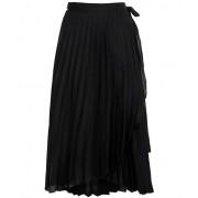 Neo Noir Ritt plisse skirt