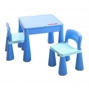 Masuta cu 2 scaune Tega Mamut Albastru