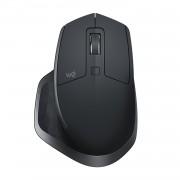 Miš Logitech MX Master 2S, Optički, USB wireless, tamno siva, 24mj, (910-005139)