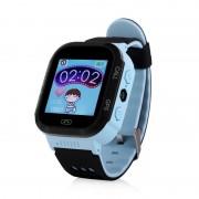 Ceas inteligent pentru copii GW500S Albastru cu touchscreen telefon si localizare GPS