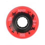 Bones Wheels ATF Rough Riders Wrangler 80A 59mm Wheels : red - Size: Uni