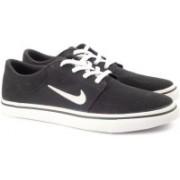 Nike SB PORTMORE CNVS Sneakers For Men(Black)