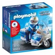 PLAYMOBIL policija: motor sa LED svetlom 17196