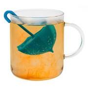 Pa Design Boule à thé Umbrella - Pa Design bleu en matière plastique