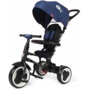 Tricicleta pliabila QPlay Rito pentru copii Albastru inchis