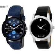 DCH NWC-119 Pack Of Two Wrist Analogue Watches For Men and Boys