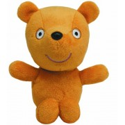 """Ty Beanie Baby Peppas Teddy 7"""" From Peppa Pig World Uk Exclusive"""