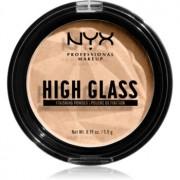NYX Professional Makeup High Glass pudra pentru luminozitate culoare Light 5,5 g