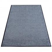 Schmutzfangmatte für Innen, Flor aus High-Twist-Nylon LxB 2400 x 1150 mm grau meliert