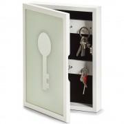 ZELLER Skříň na klíče KEY, věšák na drobnosti, 22x5x30 cm, ZELLER