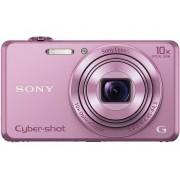 Sony Cyber-Shot DSC-WX220P Digitale camera 18.2 Mpix Zoom optisch: 10 x Roze Full-HD video-opname, WiFi