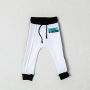 LoowFAT KIDS Eyes Track Pants White