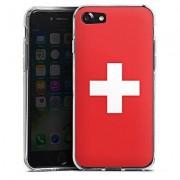 geschenkidee.ch iPhone 7 & 8 Schutzülle Schweizer Flagge