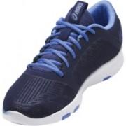 Asics Gel-Fit Tempo III Women's High Impact Training Gym Shoes, Indigo Blue/Silver/Regatta Blue - 8 US Training & Gym Shoes For Women(Blue, Silver)