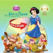 Disney Audiobook. Alba-ca-Zapada si cei sapte pitici - format mic carte + CD