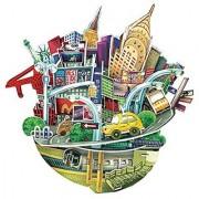 3d puzzle Cubic Fun New York- City Scape OC3203 55 pieces Puzzle N US