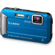 Panasonic Digital Camera Lumix DMC-FT30 16.1 Megapixel Blue