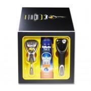 Gillette Fusion Proshield Giftset incl Scheergel + houder met (reis) etui