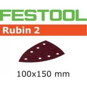Festool STF DELTA RU2 Slippapper 7-hålat, 10-pack P220