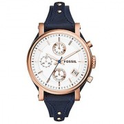 Fossil Original Boyfriend Analog Silver Dial Womens Watch - ES3838