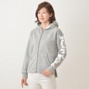 アディダス ビッグリニアスウェットフルジップパーカー【QVC】40代・50代レディースファッション