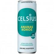 Celsius Ananas Kokos 355ml