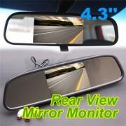 """Огледало за кола с вграден 4.3"""" TFT монитор"""