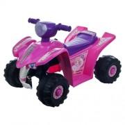 Lil Rider Princess Mini Quad Four Wheeler Ride-On Car, Pink