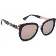 Marc louis Retro Square Sunglasses(Pink)