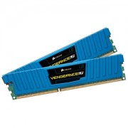 Memorie Corsair Vengeance Low Profile BLue 16GB (2x8GB) DDR3 PC3-12800 CL10 1600MHz 1.5V XMP Dual Channel Kit, CML16GX3M2A1600C10B