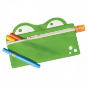 Pkolino Mess Eaters: Pencil Case - Green