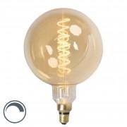 Calex E27 dimmable LED filament lamp MEGA globe 4W 200lm 2100 K