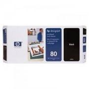 HP Глава черна No.80, (DesignJet 1050/1055CM) - C4820A